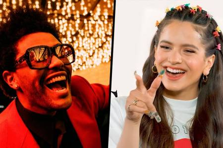 Rosalía y The Weeknd lanzan por sorpresa el remix de 'Blinding Lights'
