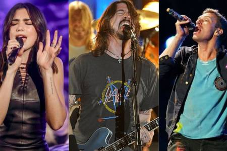 Chris Martin y Dua Lipa versionarán a Foo Fighters con fines benéficos