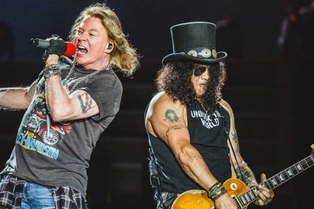 Slash confirma que habrá disco de Guns N' Roses